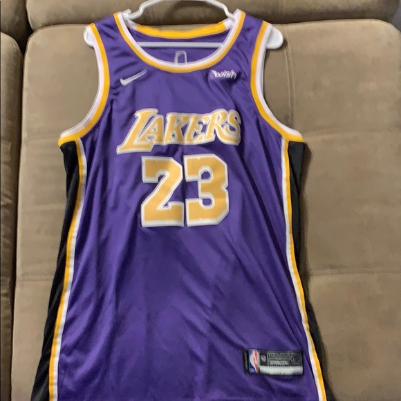 check out 21900 20eef Nike LeBron James Los Angeles Lakers Jersey